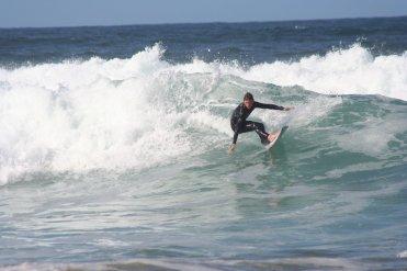 Surfing near Edenvale Bed & Breakfast, Narin & Portnoo, County Donegal, Ireland