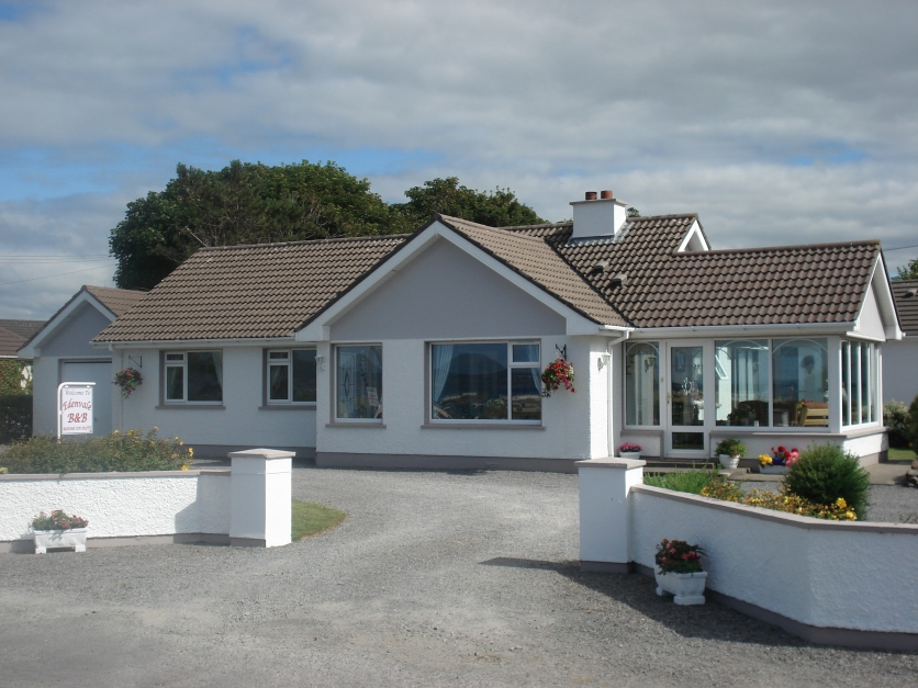 Exterior view of Edenvale Bed and Breakfast, Narin and Portnoo, Co Donegal